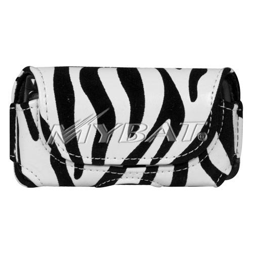 Horizontal Pouch 6218 Zebra Skin for MOTOROLA V9