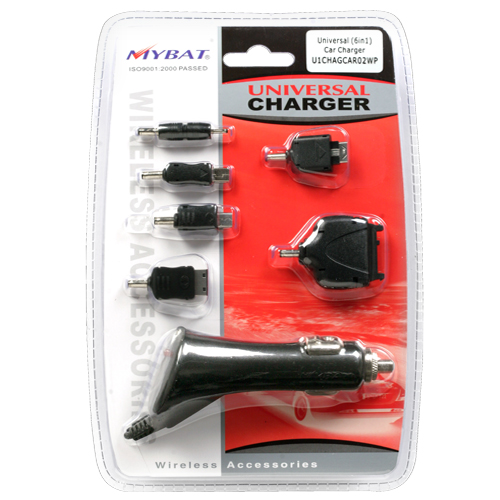 Universal Compatible with Most Models 6-in-1 Car Charge
