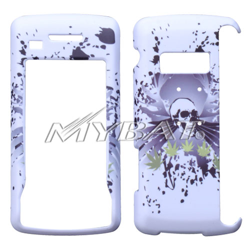 Lizzo Skull Marijuana White Phone Protector Cover for L