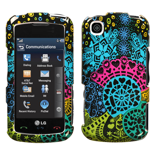 Love Fair Phone Protector Cover for LG GT550 Encore