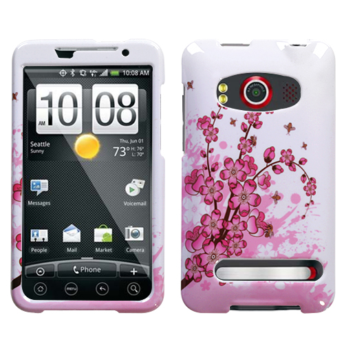 Spring Flowers Phone Protector Cover for HTC EVO 4G