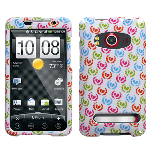 Broken Hearts Phone Protector Cover for HTC EVO 4G