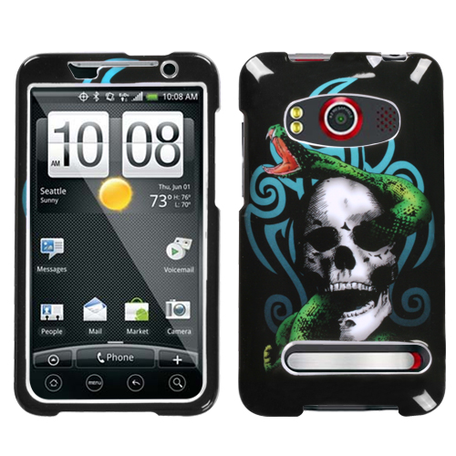 Tribal Snake Phone Protector Cover for HTC EVO 4G