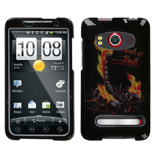 Scorpion Phone Protector Cover for HTC EVO 4G