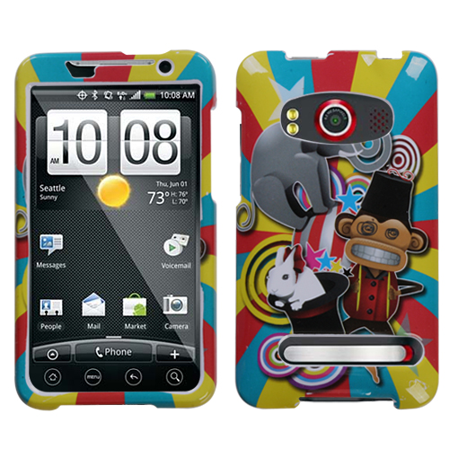 Circus Phone Protector Cover for HTC EVO 4G
