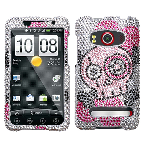 Tear Diamante Phone Protector Cover for HTC EVO 4G
