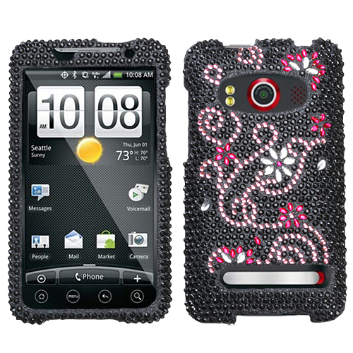 Delight Diamante Phone Protector Cover for HTC EVO 4G
