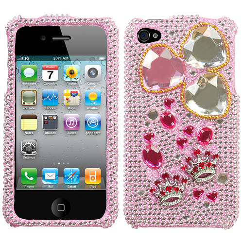 Princess Love Regular 3D Diamante Protector Cover for A