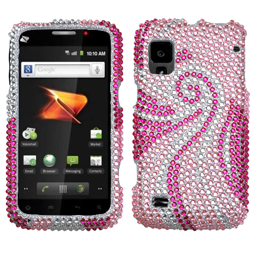 Phoenix Tail Diamante Protector Cover for ZTE N860 Warp