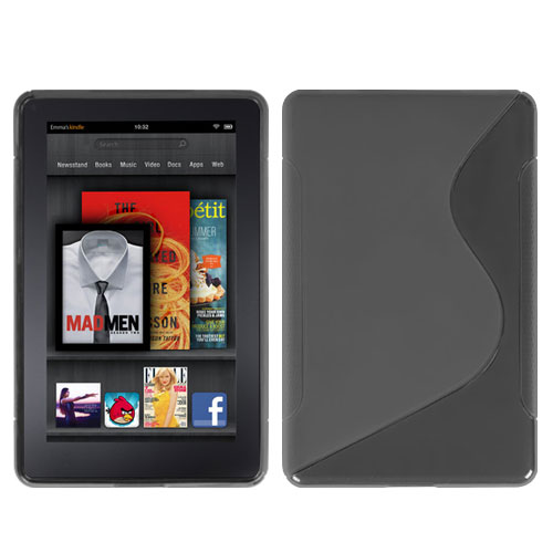 Smoke S Shape Candy Skin Cover for KINDLE fire