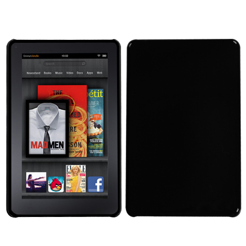 Natural Black Back Protector Cover for KINDLE fire