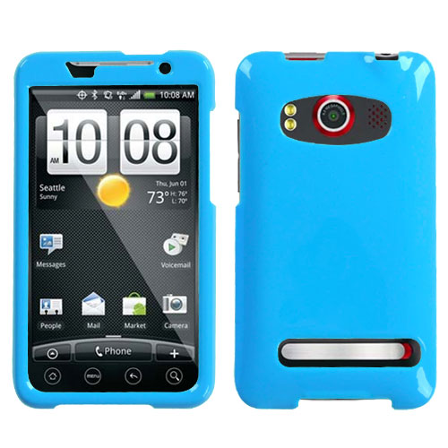 Natural Turquoise Phone Protector Cover for HTC EVO 4G