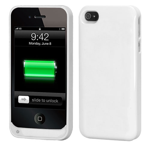 1500 mAh Quantum Energy Battery Case for iPhone 4S/4 fo