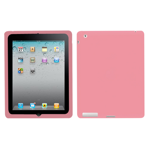 Solid Skin Cover (Pink) for APPLE: iPad 4 (with Retina