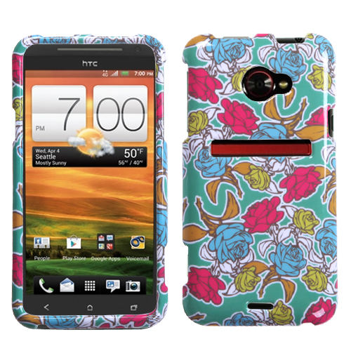 Rose Garden Phone Protector Cover for HTC: EVO 4G LTE