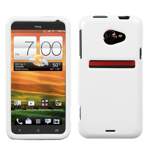 Solid Ivory White Phone Protector Cover for HTC: EVO 4G