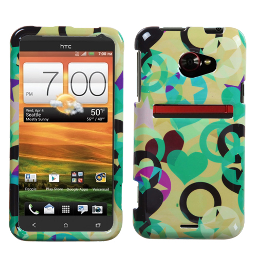 Love and Liberty Phone Protector Cover HTC: EVO 4G LTE