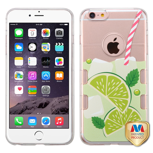 Transparent Clear Mint Limeade-Summer Soda Collection/Transparent Clear Gummy Cover