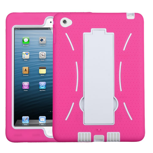 White/Hot Pink Symbiosis Stand Protector Cover
