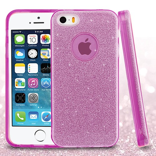 Purple Full Glitter Hybrid Protector Cover (with Package)