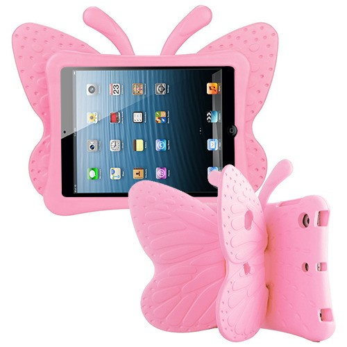 Pink Butterfly Kids Drop-resistant Protector Cover