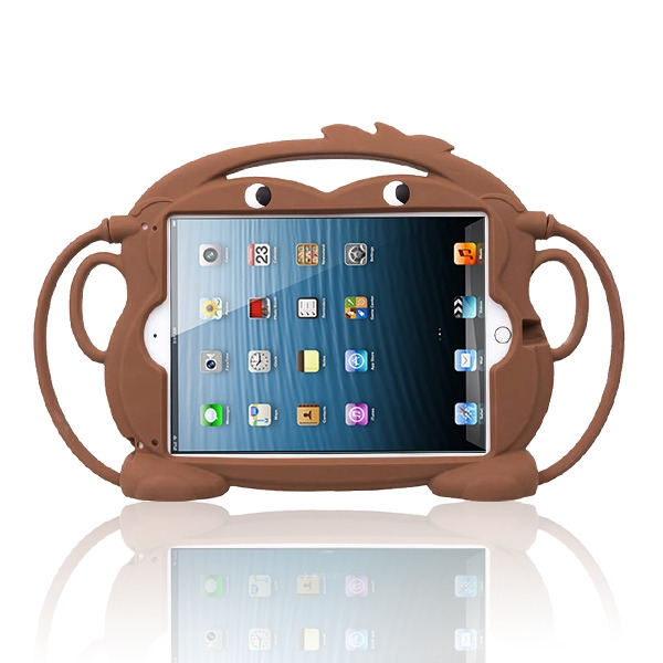 Brown Monkey Kids Drop-resistant Protector Cover(with Stand & Handheld & Hanging Function)