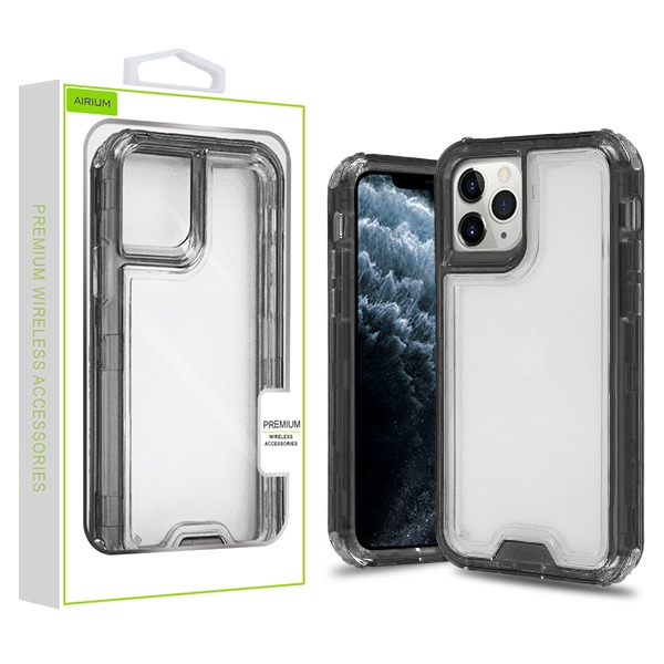 Transparent Smoke/Transparent Clear Hybrid Protector Cover (with Package)
