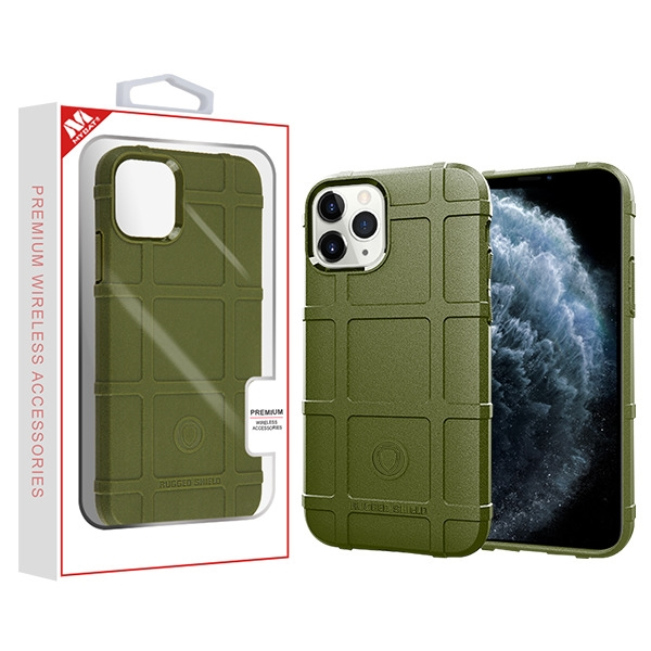 Green Rugged Bumper Shield Candy Skin Cover (with Package)