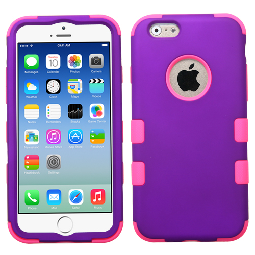 For-iPhone-6S-PLUS-4-7-5-5-5S-5C-4S-Hybrid-Armor-Hard-Rubber-High-Impact-Case