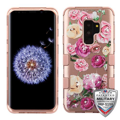 31284a1e47e MYBAT Roses (2D Rose Gold) Rose Gold TUFF Hybrid Phone Case (with ...