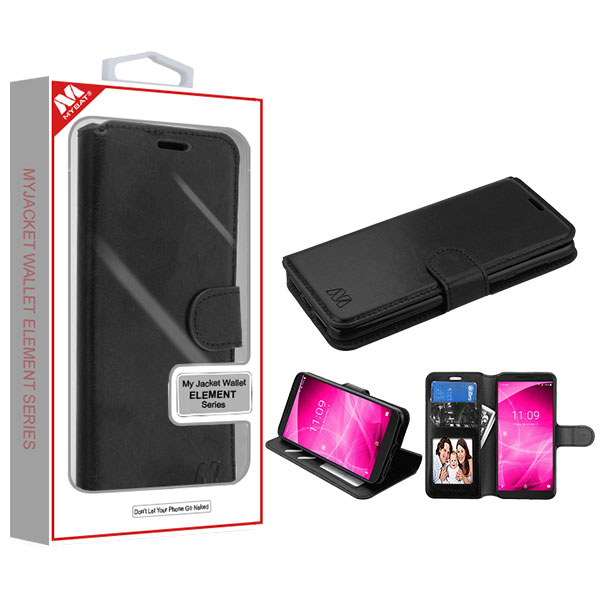 MYBAT Black MyJacket Wallet Element Series(561) -WP   ALCREVVL2MYJK561WP