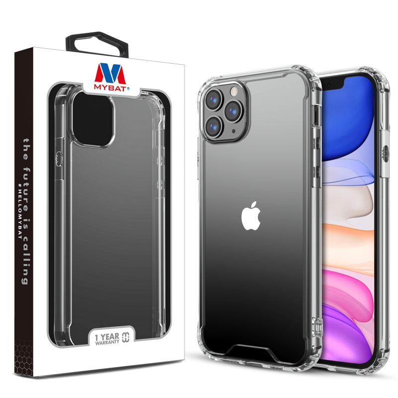 MYBAT Highly Transparent Clear/Transparent Clear Sturdy Gummy Cover (with Package)