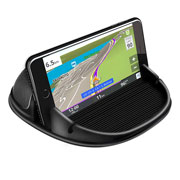 Black Car Dashboard Phone Mount