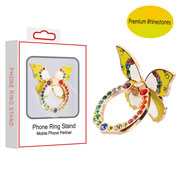 Yellow/White Butterfly Ring Stand