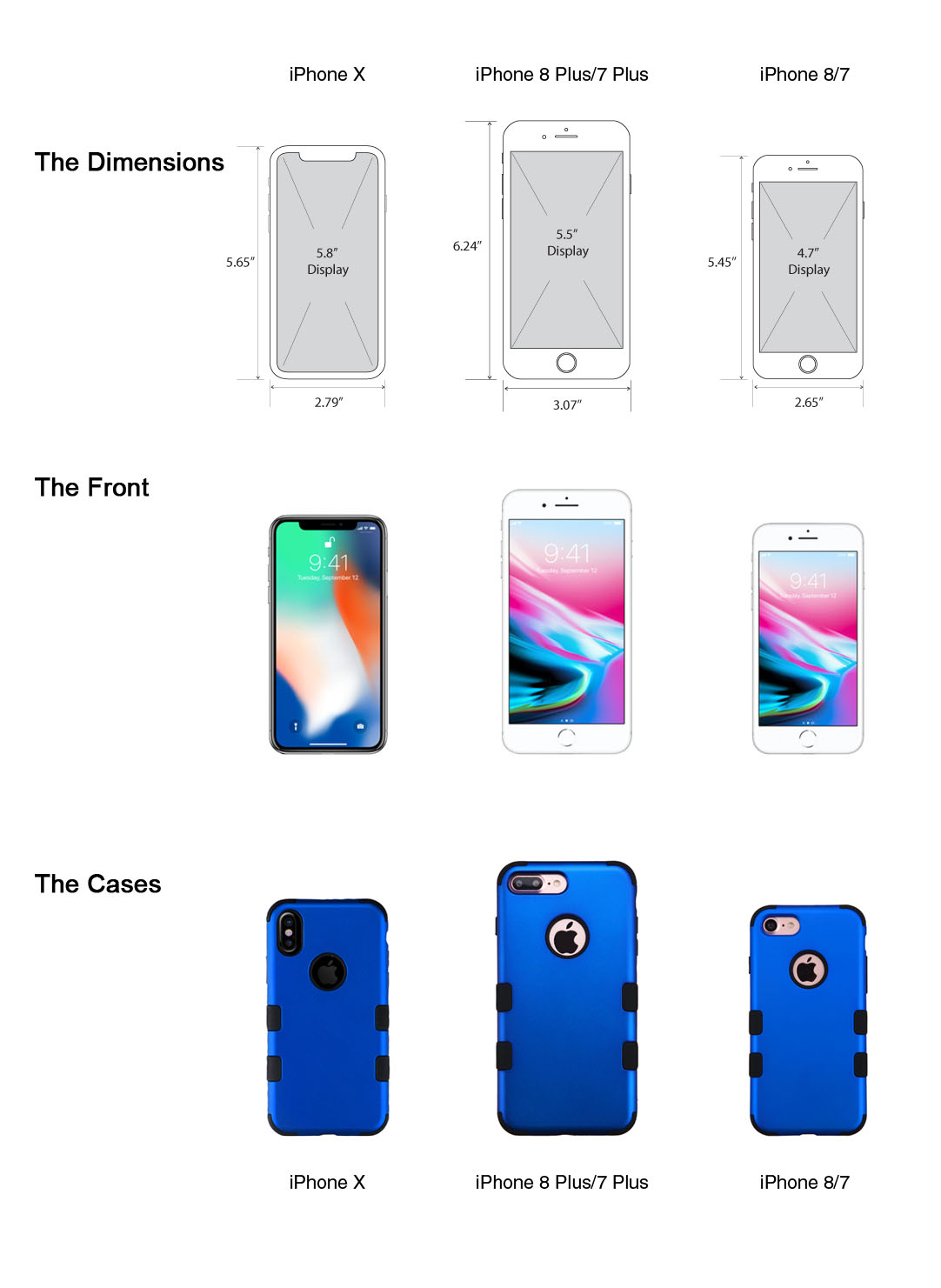 new concept 15b22 e3e2b iPhone X Case vs iPhone 8 Case. What's the difference?